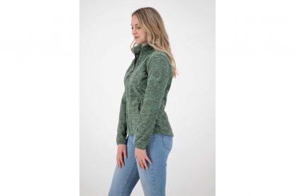 Het Kjelvik Ziva damesvest heeft een sportieve uitstraling door de gemêleerde stof. Het vest voelt zacht aan en draagt comfortabel, waardoor jij hem gegarandeerd veel gaat dragen. Voorzien van zakken met rits, zodat je spullen veilig mee op pad neemt.