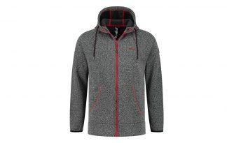 De Kjelvik Lucas herenvest heeft een sportieve uitstraling door de gekleurde accenten. Het vest voelt zacht aan en draagt comfortabel, waardoor jij hem gegarandeerd veel gaat dragen. Voorzien van muts en steekzakken.