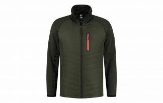De Kjelvik Jens herenjas heeft een sportieve uitstraling door de combinatie van materiaal en kleuren. De jas is waterafstotend en voorzien van stretch, waardoor hij comfortabel draagt. De zakken zijn voorzien van een rits, zodat jij jouw spullen veilig meeneemt.