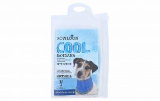 De Kowloon Cool Bandana zorgt voor fijne verkoeling op warme dagen bij jouw hond. Dompel de bandana in het water, wring het uit en plaats hem om de hals van de hond. Zorg ervoor dat je de de bandana altijd terugplaatst in het bijgeleverde hoesje, zodat je voorkomt dat hij uitdroogt.