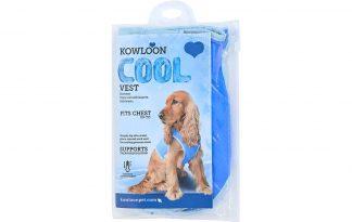 Het Kowloon Cool hondenvest zorgt voor fijne verkoeling op warme dagen en daardoor voorkom je eventuele oververhitting. Dompel het vest in het water, wring hem uit en doe hem aan bij de hond.
