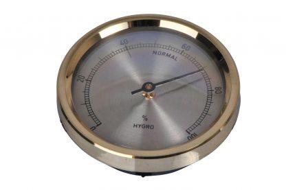 De TFA Hygrometer heeft een bi-metaal mechanisme en is volledig ijkbaar. Te gebruiken als globale indicatie voor onder andere broedmachines. De indicatie is af te lezen als percentage tussen 0 en 100.