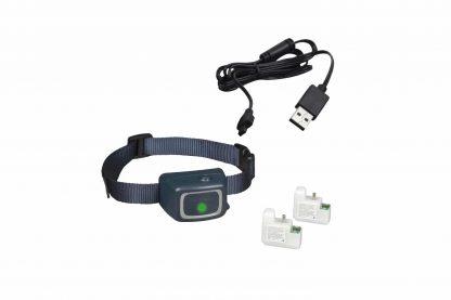 De PetSafe blafhalsband met spray zorgt voor een verassend effect tijdens het blaffen. Door het geluid en vibraties van het blaffen activeert er een sensor, waardoor de spray wordt uitgestoten.