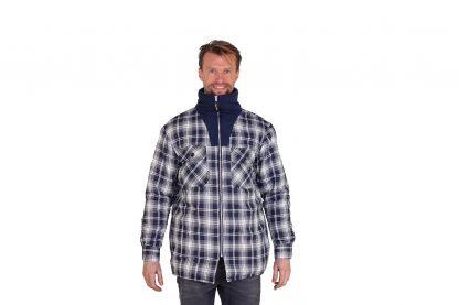 Het Storvik Vancouver heren thermohemd met hoge kraag is heerlijk warm en perfect om in te werken. Het vest is gevoerd met fleece en is 100% katoen, waardoor het fijn draagt.