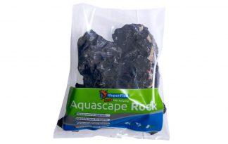 De Superfish Aquascape Black Rock zijn diepzwarte grillige harde stenen. Zorgen tevens voor een prachtig contrast met de felgroene beplanting.