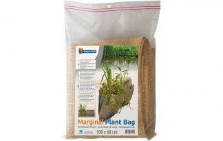 De Superfish Oeverplantzak is een stevige flexibele plantentas voor een begroeide vijverrand. De oeverplanten-tas is voorzien van 2 ruime zakken voor over de vijverrand. Daarnaast is het gemaakt van jute en tevens voorzien van een kunststof binnenzijde.