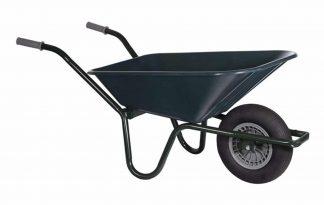 Tuin kruiwagen basic kunststof 80L is erg stevig en heeft een grote inhoud
