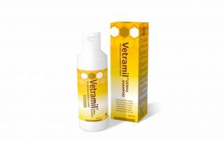 De Vetramil Derma shampoo is speciaal ontwikkeld voor honden met een gevoelige of geprikkelde huis. De pH-waarde van de shampoo is speciaal afgestemd op de zuurgraad van honden en tast daardoor de natuurlijke vetlaag niet aan.