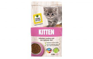 De Vitalstyle kittenbrokken zorgen ervoor dat jouw nieuwe dierenvriendje een goede start krijgt. De brokken bevatten enkel puur natuurlijke ingrediënten en is daardoor vrij van kleur-, geur-, smaakstoffen of conserveringsmiddelen. Voor jouw kat wil je immers alleen het beste!