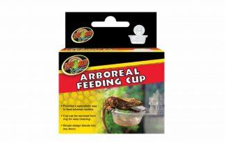 De Zoomed Arboreal feeding cup is zeer geschikt voor boombewonende reptielen, doordat je de voerbakjes op hoogte plaatst. Op deze manier is het mogelijk om natuurlijk gedrag te vertonen. Daarnaast zijn de voerbakjes makkelijk te reinigen.