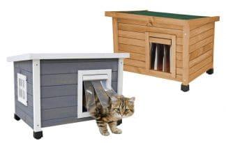 Kerbl Rustica kattenhuis