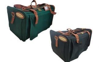 De Otten Carrier vintage draagtas is een luxe nylon draagtas voor uw kat of kleine hond die perfect is om mee te reizen.