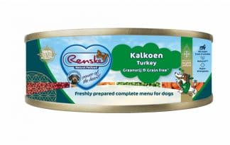 Renske kalkoen vers gestoomd graanvrij blik 95 gram