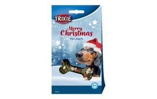 Trixie Kerst Mini Hartjes voor Honden zak