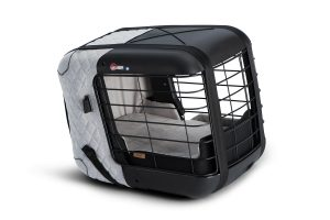 4Pets Caree vervoersbox Cool Grey