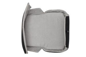 4Pets Caree vervoersbox Cool Grey interieur kussen