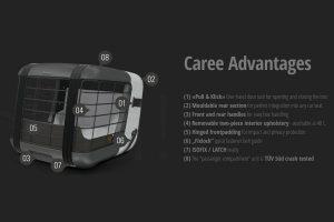 4Pets Caree vervoersbox voordelen