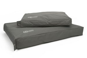 51DegreesNorth Storm Box Pillow hondenkussen - Rocky Grey