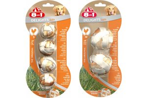 8 in 1 Delights Balls kauwballen met kip
