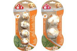 8 in 1 Delights Balls kauwballen met kip