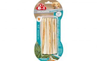 8 in 1 Delights Pro Dental Sticks kauwstaaf met kip