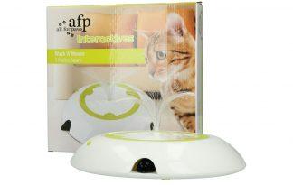 AFP Interactive Wack A Mouse kattenspeelgoed
