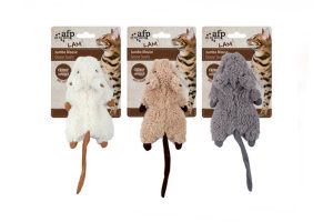AFP Lambswool Jumbo Mouse Crinkle Catnip