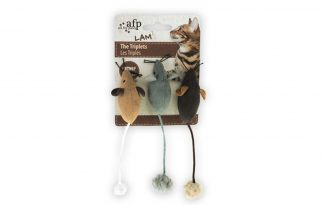 AFP Lambswool The Triplets Catnip