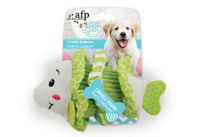 AFP Little Buddy Crinkly hondenknuffels - Dodosea groen