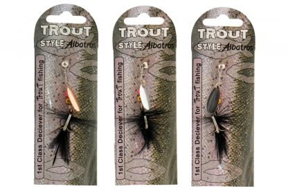 Albatros Trout Style Realist Spinner