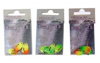 Albatros Trout Style Pieces spinblades