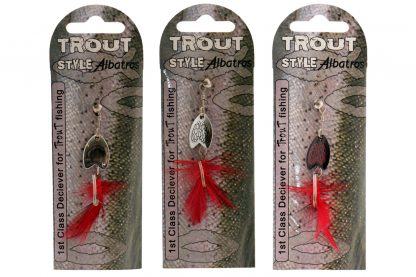 Albatros Trout Style Bug Spinner