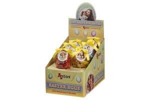 De Antos Paasei-snack is een heerlijk tussendoortje voor uw hond met een kipsmaak