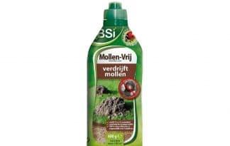 Met BSI Mollen-vrij granulaat weert u ze op een diervriendelijke manier. Het granulaat geeft een geur af waar mollen niet van houden, zodat ze deze plekken vermijden.