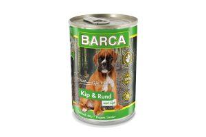Barca Kip & Rund Puppy blikvoeding