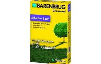 Barenbrug schaduw en zon is specifiek voor schaduwplaatsen in uw tuin. Deze grasmengeling groeit goed in zowel schaduw als zon en voorkomt de vorming van mos.