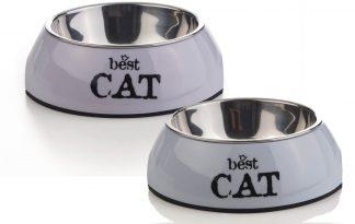 Beeztees Best Cat drink- of voerbak