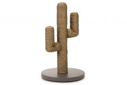 Beeztees Designed by Lotte houten krabpaal Cactus taupe