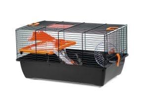 De Beeztees knaagdierkooi Pigi 1 is een modern en uitdagend verblijf voor uw huisdier.