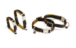 Beeztees MacLeather Soft Touch halsband