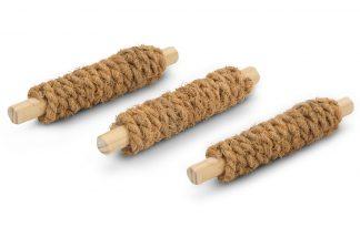Beeztees Coconut Rope speelsticks knaagdierspeeltjes