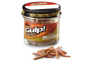 Berkley Gulp Mini Earthworms Natural