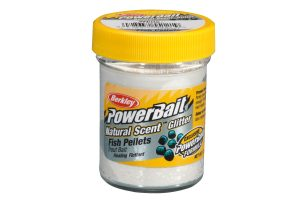 Berkley PowerBait Natural Scent fish pellet wit