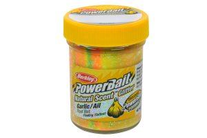 Berkley PowerBait Natural Scent garlic rainbow