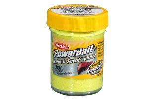 Berkley PowerBait Natural Scent liver sunshine yello