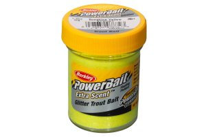 Berkley PowerBait Extra Scent Sunshine Yellow