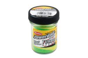 Berkley PowerBait Turbo Dough spring green-yellow