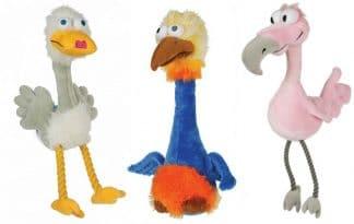 De Bird Brain vogels zorgen voor veel plezier. Verkrijgbaar als zwaan, struisvogel en flamingo