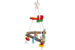Birdtoy Pyramid vogelspeelgoed