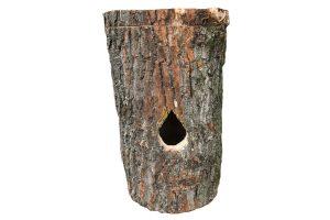 Broedblok natuurhout deluxe Neushoornvogel